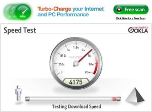 Schneller DSL-Geschwindigkeitstest: ip-adress.com/speedtest/