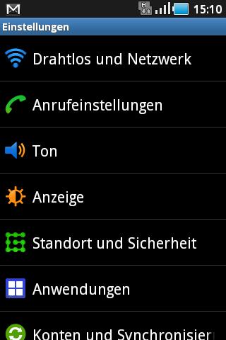 Screenshot Android auf Samsung Galaxy