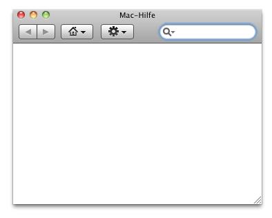 Mac-Hilfe