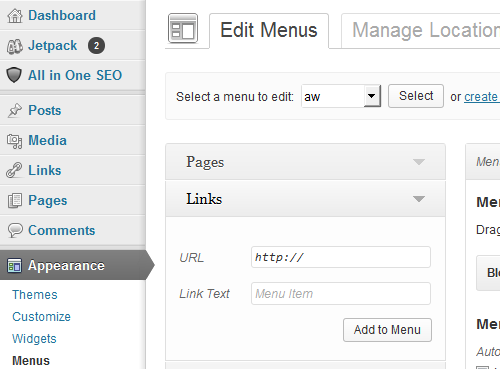 wordpress-keine-links_4